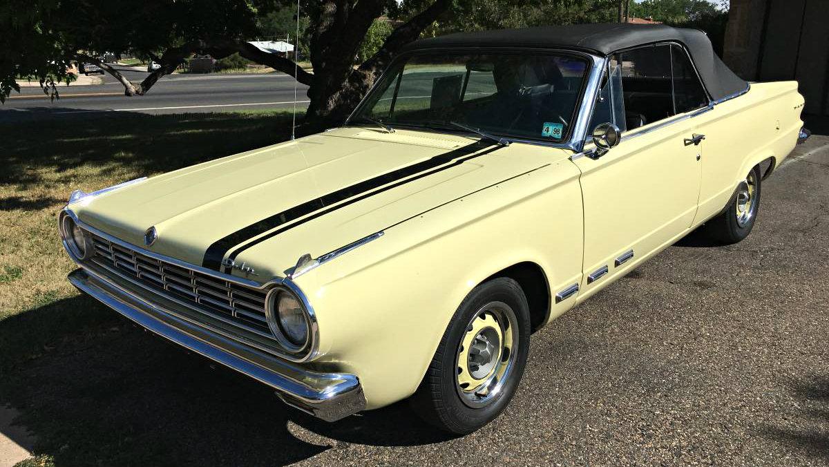 It's GO GO Time! 1965 Dodge Dart GT