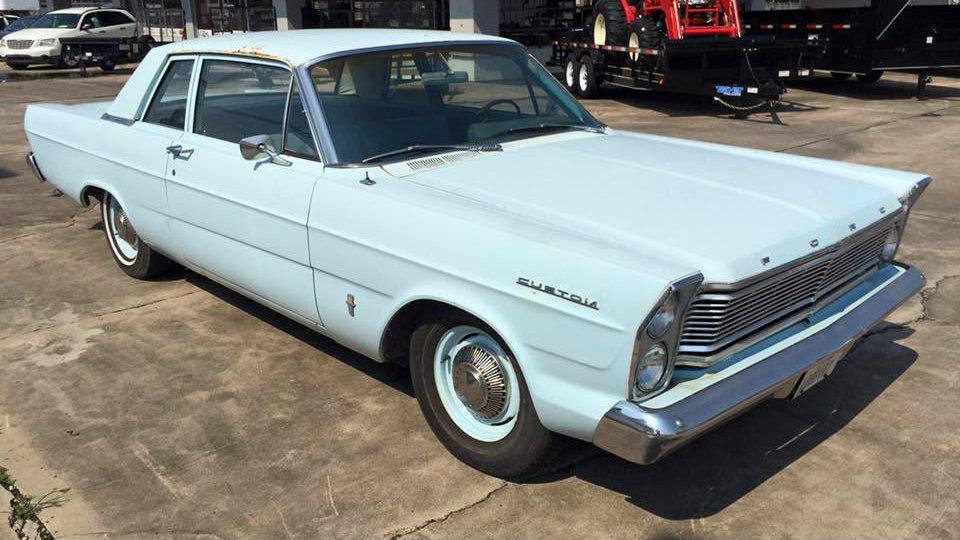 Custom Steering Wheel >> Base Model Survivor: 1965 Ford Custom
