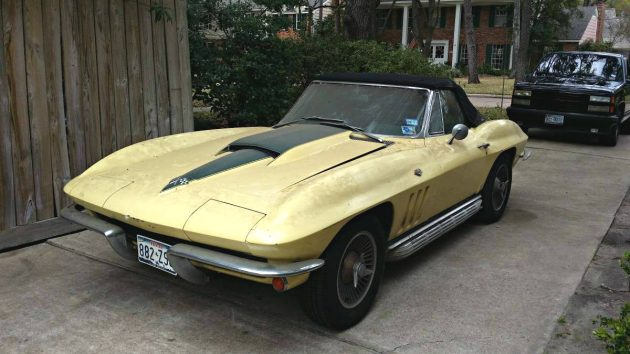 Found On Jack Stands: 1966 Corvette Convertible