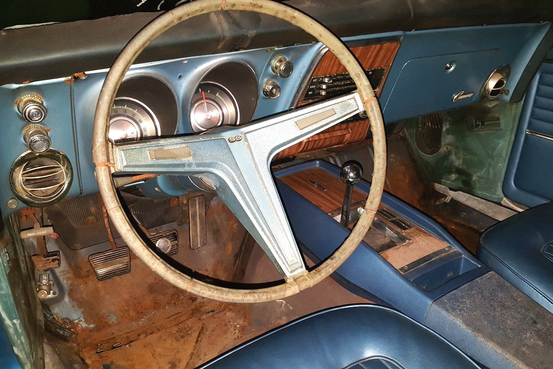 Dreamy Survivor 1968 Chevrolet Camaro Rs Ss