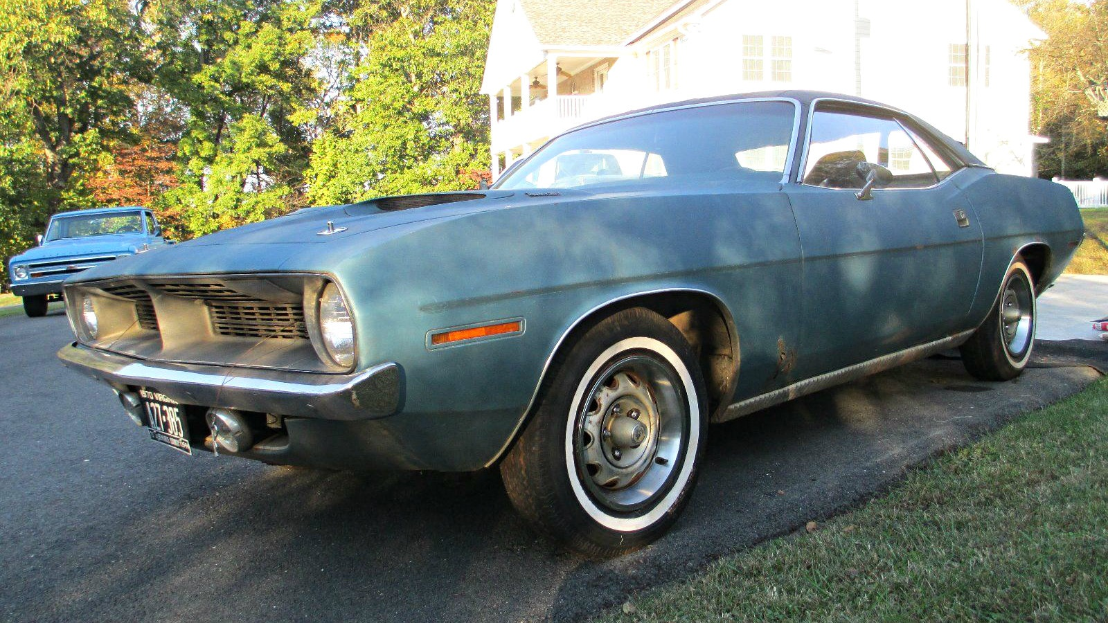 2016 Dodge Barracuda >> Original Condition Fish: 1970 Plymouth Barracuda