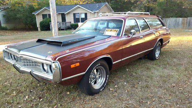Station Wagon Muscle: 1972 Dodge Coronet Crestwood
