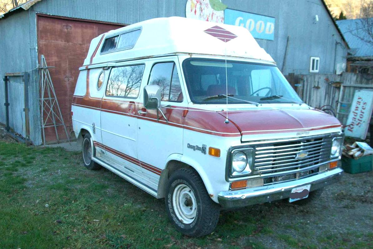 Cheap Explorer 1977 Chevrolet Eldorado Camper Van