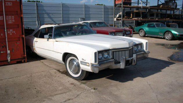Major Price Drop 1971 Cadillac Eldorado Convertible
