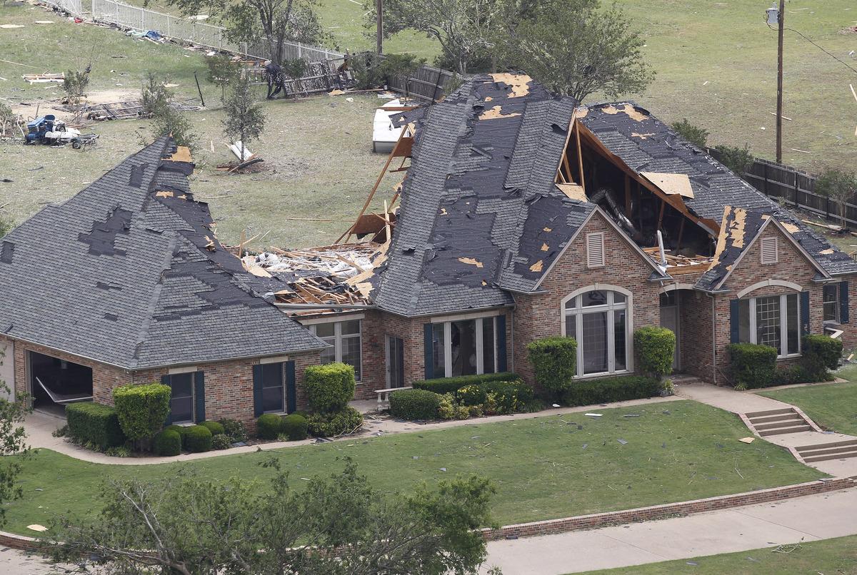 Tornado Damage 1969 Camaro