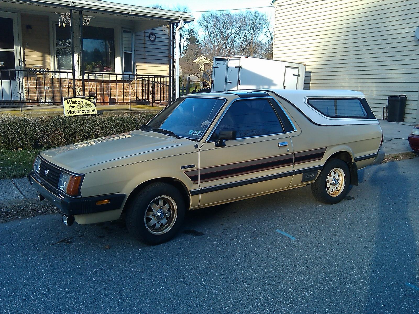 Nicest BRAT You ll Find 1984 Subaru BRAT GL