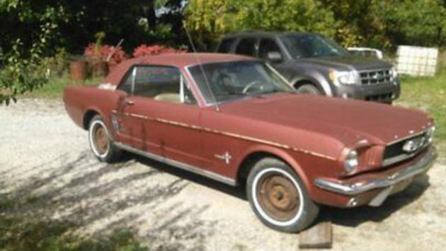 Original Emberglo: 1966 Ford Mustang