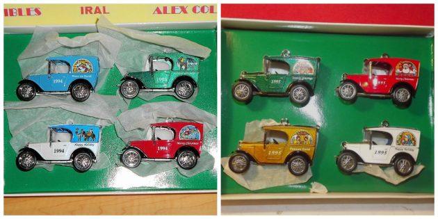 Christmas Treasures: Vintage Matchbox Ornaments