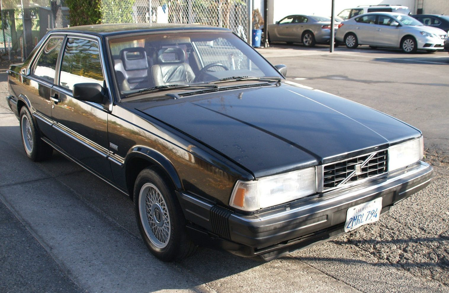 Most Comfortable Cars >> Handsome Brick: 1989 Volvo 780 Bertone