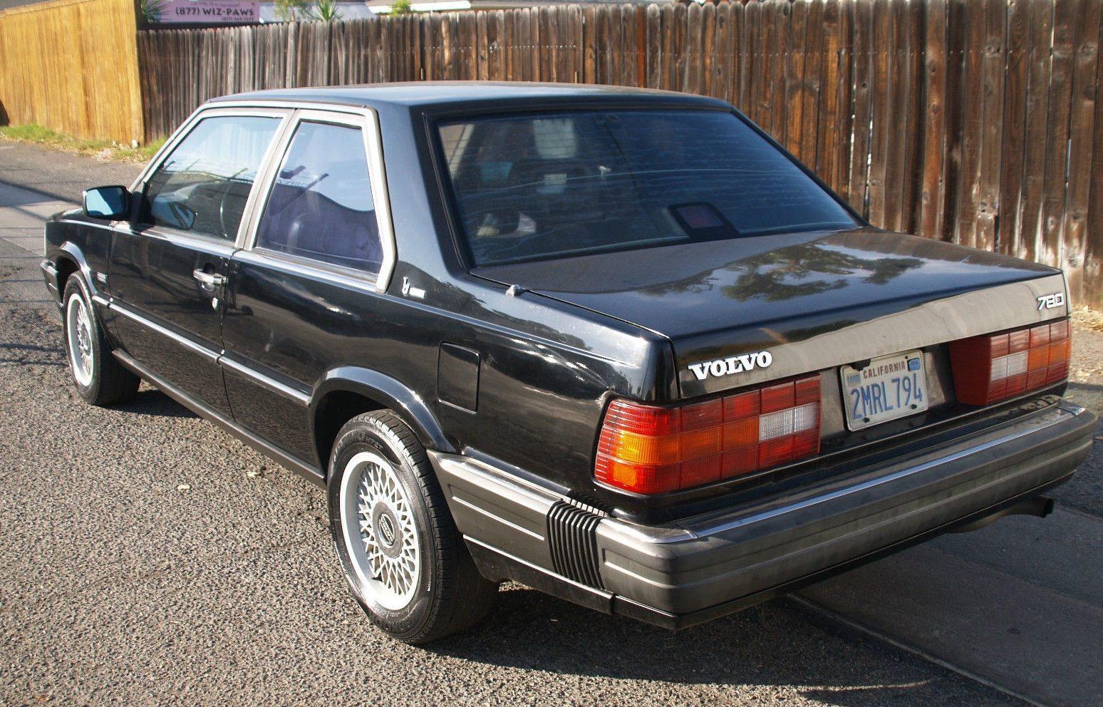 Handsome Brick 1989 Volvo 780 Bertone