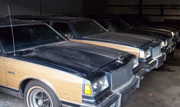Wagon Train Barn Find Buick Electra Collection