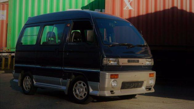 Little Big Box! 1980 Suzuki Kei Class Van