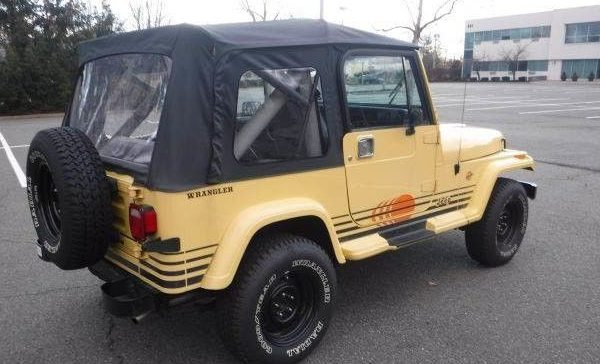 never this nice jeep wrangler islander edition. Black Bedroom Furniture Sets. Home Design Ideas