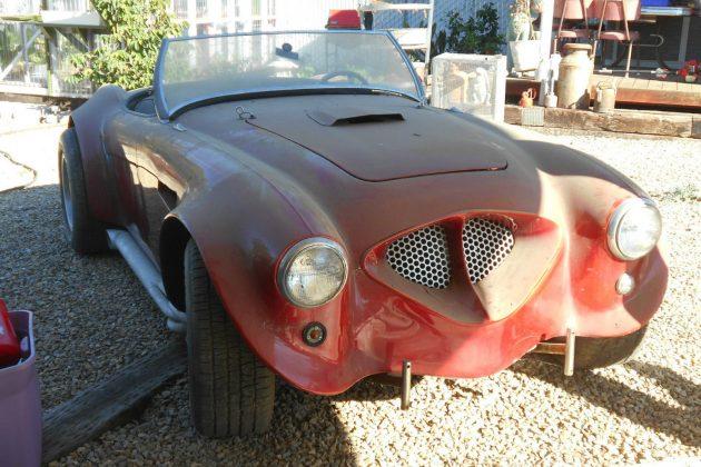 Don't Worry, It Unbolts! 1955 Austin Healey V8