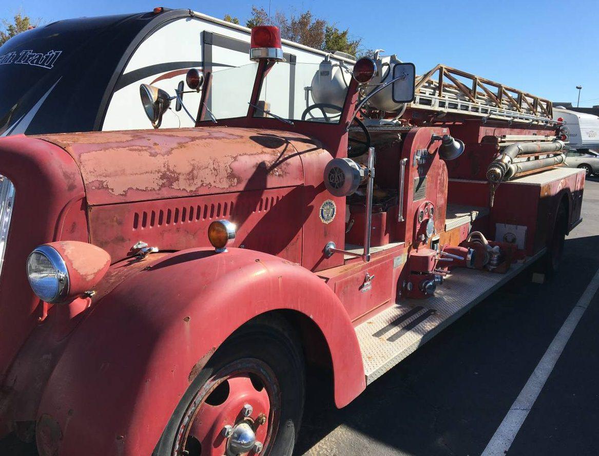 Last Minute Gift Idea: 1941 Seagrave Fire Truck