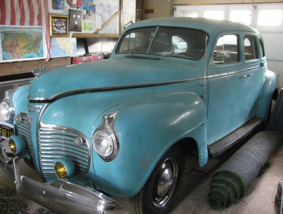 Cheap Driver 1941 Plymouth 4 Door Sedan Special Deluxe Coupe
