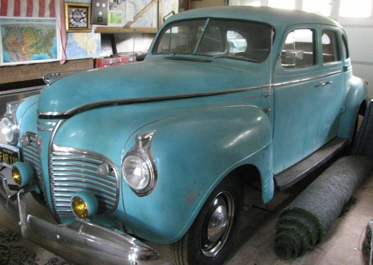Cheap Driver: 1941 Plymouth 4 Door Sedan