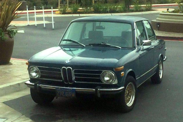 """1973 """"Roundie"""" BMW 2002"""