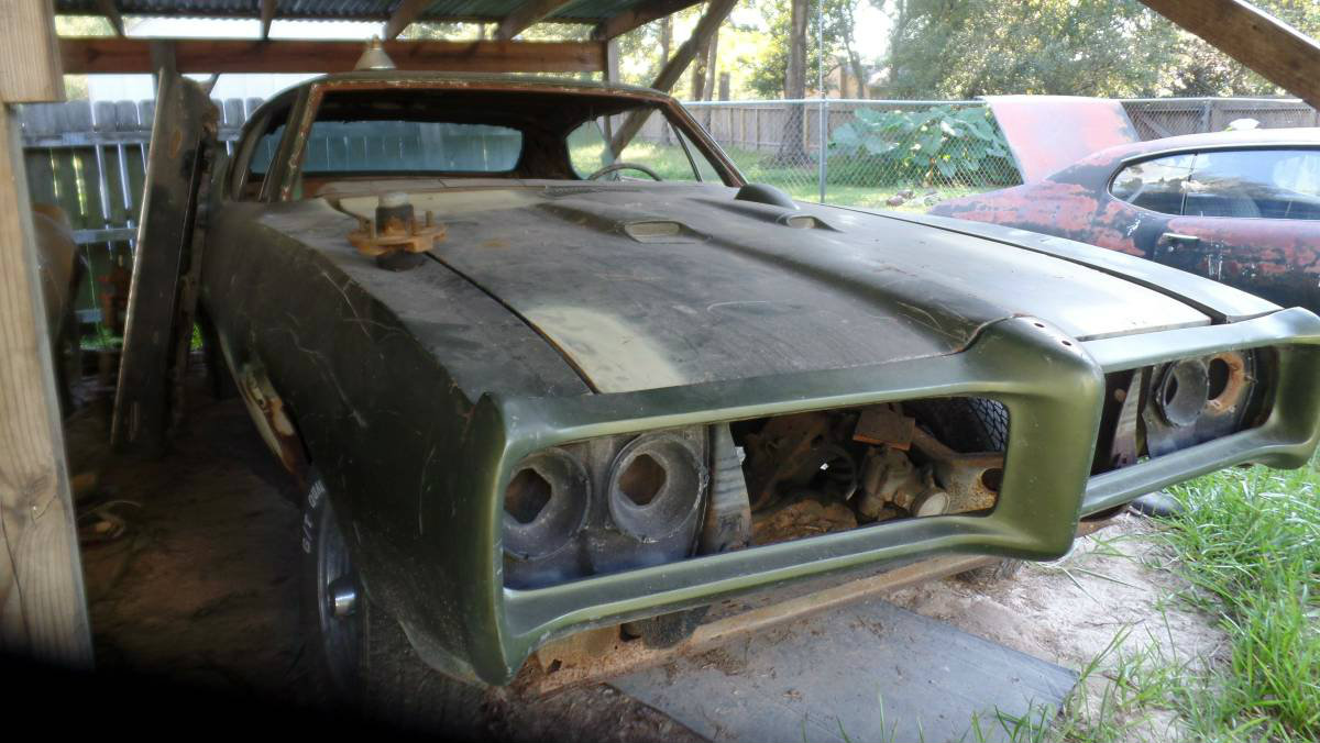 Incomplete Project: 1968 Pontiac GTO