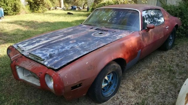 South Carolina Warehouse Find: 1973 Firebird