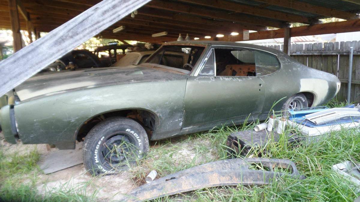 Incomplete Project: 1968 Pontiac GTO