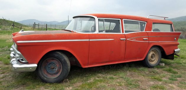 Solid: 1959 Rambler Six Cross Country Super