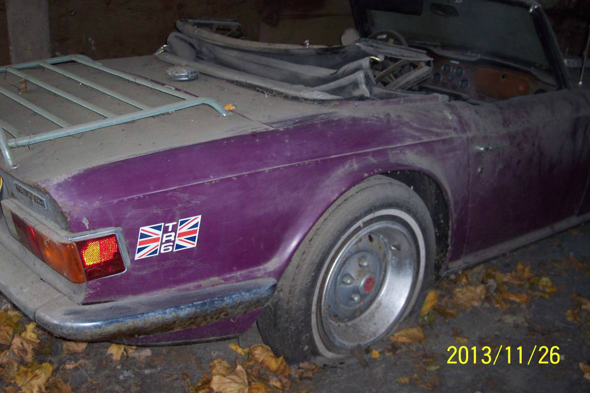 25 Years In The Barn 1973 Triumph Tr6
