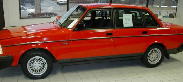 1993 Volvo 240 With Only 26k Miles!