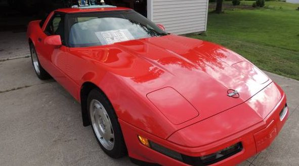 257 Actual Miles: 1995 Chevy Corvette
