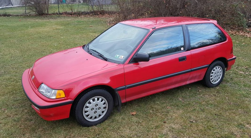 20 000 original miles 1991 honda civic hatch. Black Bedroom Furniture Sets. Home Design Ideas
