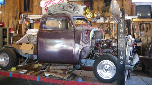 Garage Sale: 1948 Chevy Hot Rod Pick Up
