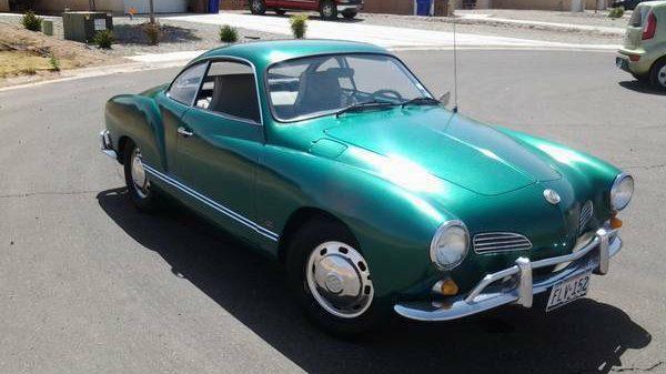 Green With EV: 1968 Karmann Ghia