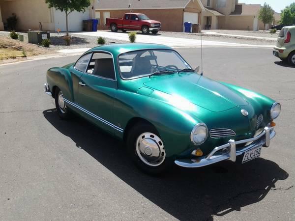 Toyota Las Cruces >> Green With EV: 1968 Karmann Ghia