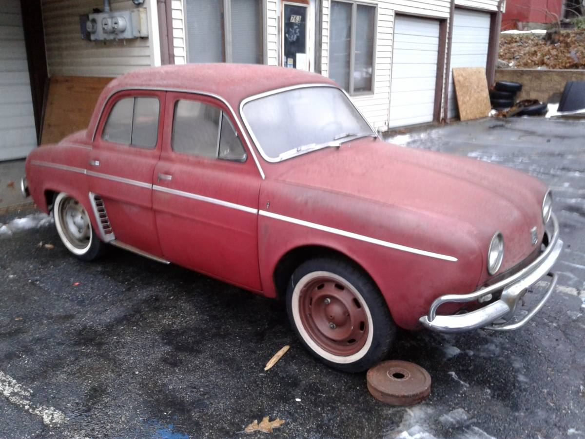 Know A Little French: 1963 Renault Dauphine
