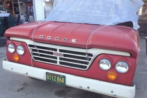 Low Mileage Sweptline: 1963 Dodge D200