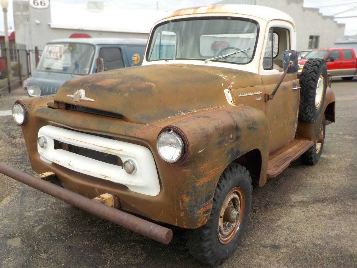 4x4 Project 1957 International S 120 Pickup Chevy Truck