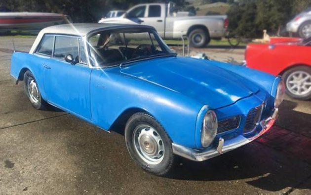 $21K! 1962 Facel Vega Facellia F2 Sport Coupé
