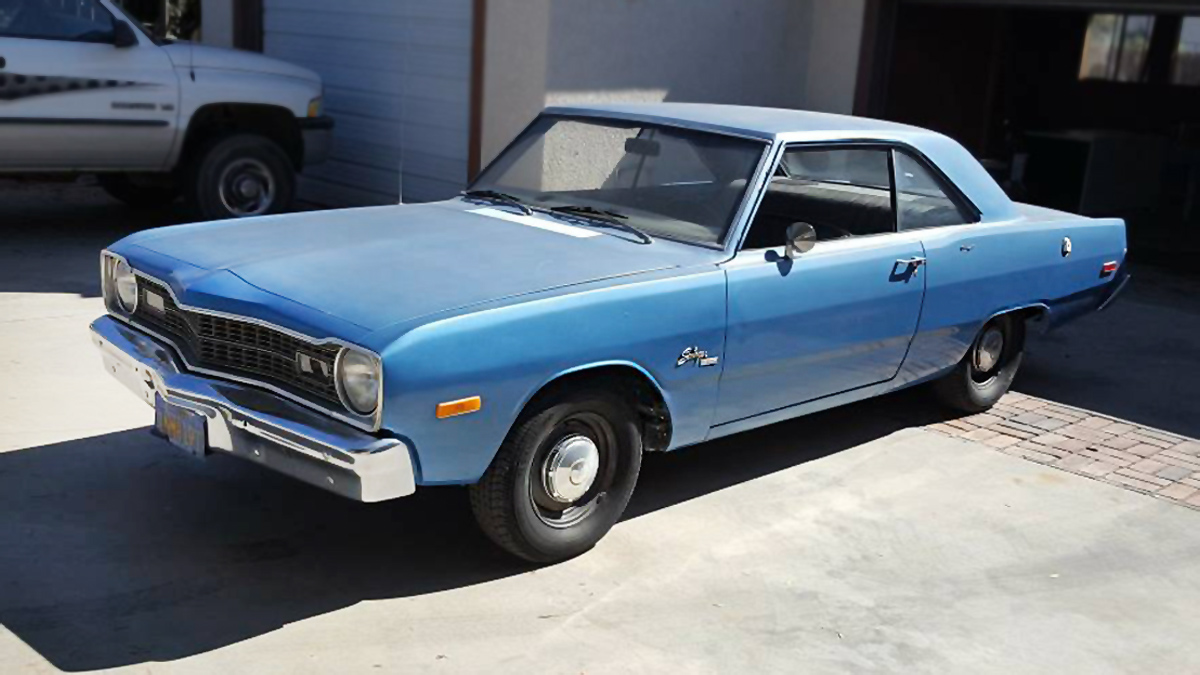 Craigslist Classifieds Los Angeles >> $2,500 4-Speed: 1974 Dodge Dart Swinger