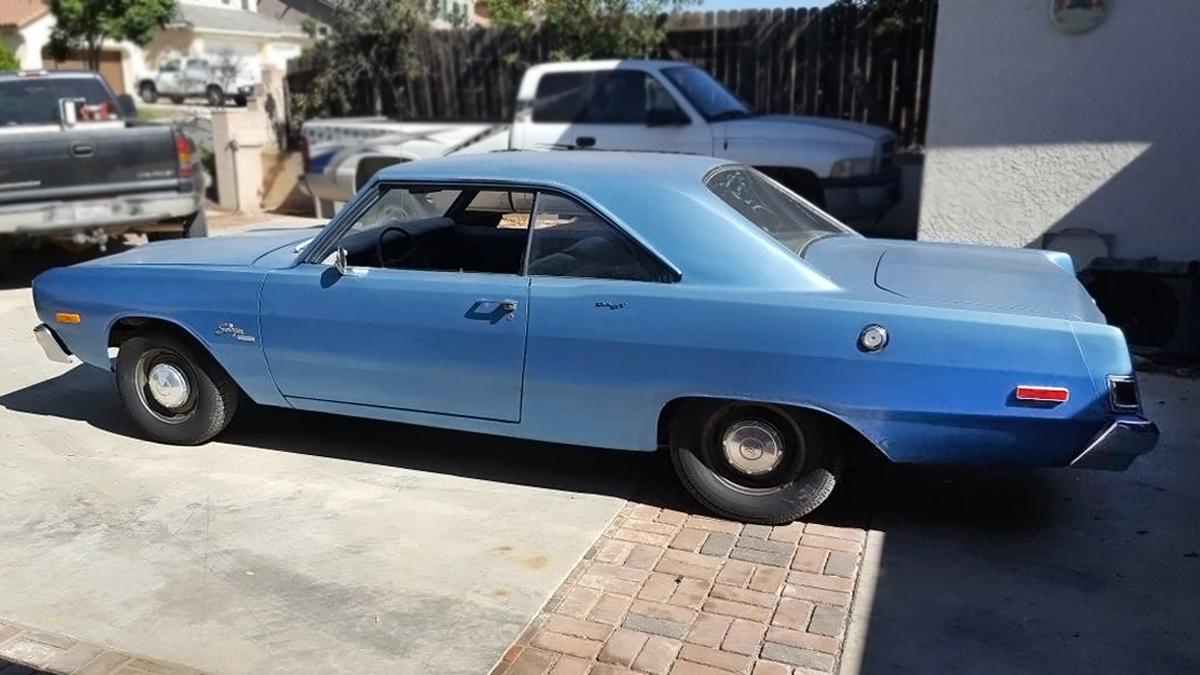 Craigslist Classifieds Los Angeles >> $2,500 4-Speed: 1974 Dodge Dart Swinger