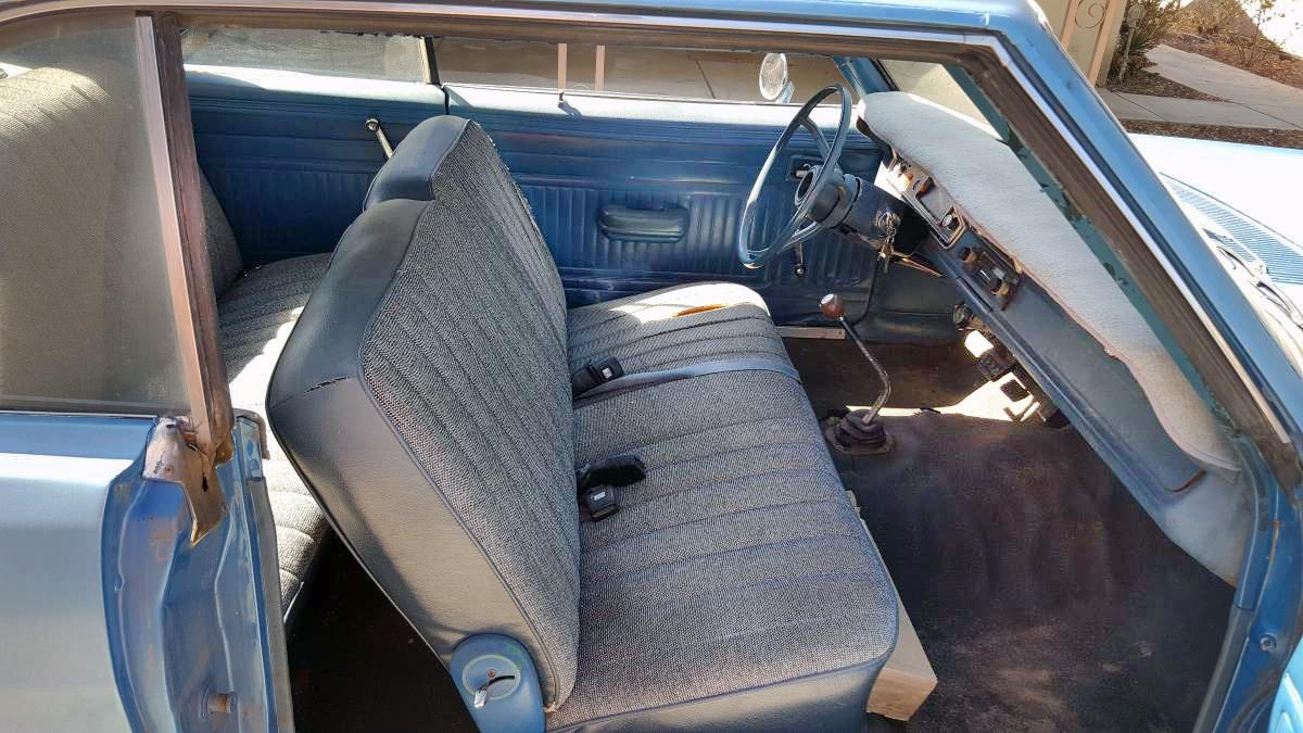 2 500 4 Speed 1974 Dodge Dart Swinger