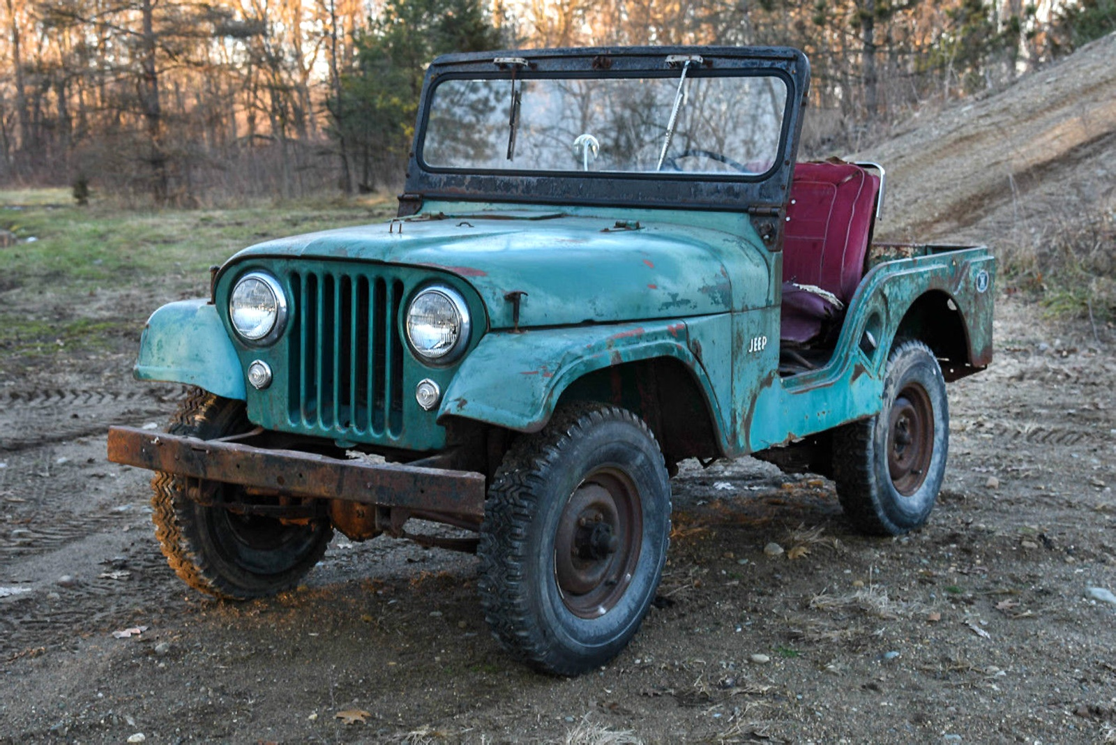 what 39 s it worth 1955 willys cj 5 jeep. Black Bedroom Furniture Sets. Home Design Ideas