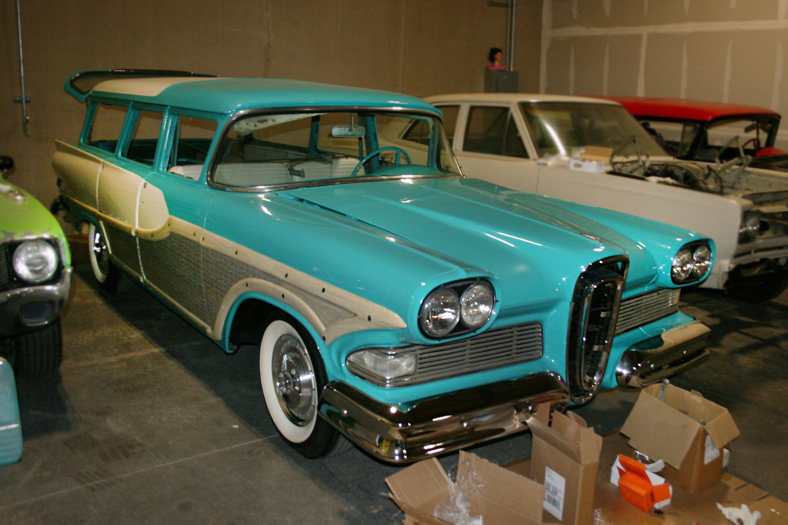 You can t beat that this gentleman has impeccable taste in unusual vehicles the edsel bermuda was only sold in 1958 and it was