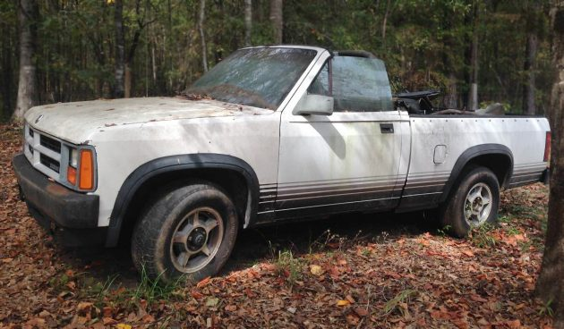 Barn Finds Dodge Dakota Convertible X on 1989 Dodge Dakota Convertible Value