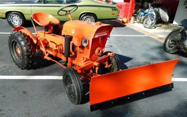 Small & Great: 1965 Economy Power King Tractor