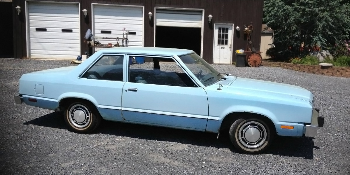 Craigslist For Cars >> 38,000 Miles: 1980 Ford Fairmont