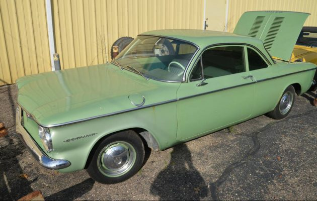 $1,900: 1960 Chevrolet Corvair 700 Club Coupe