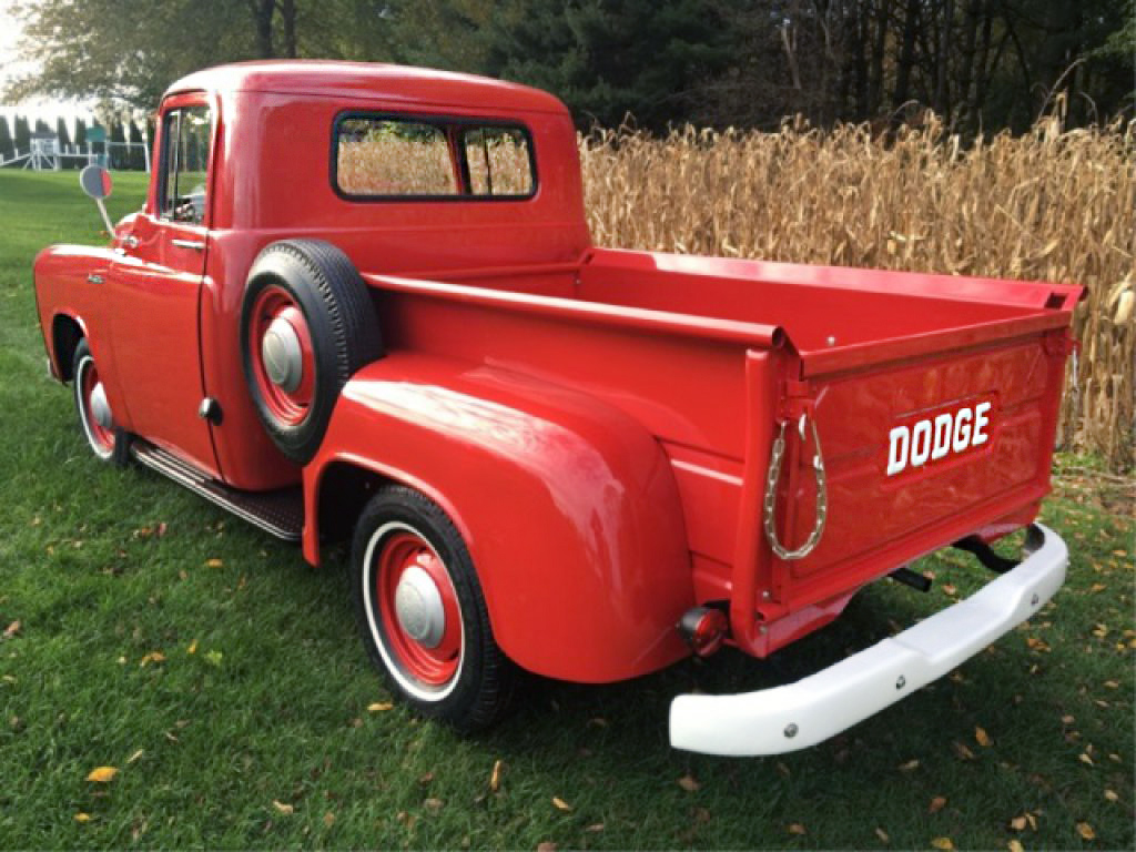 1955 dodge royal barn find for sale - This Is A C3 B6 108 So It Has A 108 Inch Wheelbase I Think This Is A Really Desirable Pickup Even If It Has Been Restored A Nice Original One Would Be