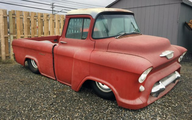 Tub'd Snub Nose: 1956 Chevrolet Cameo Custom