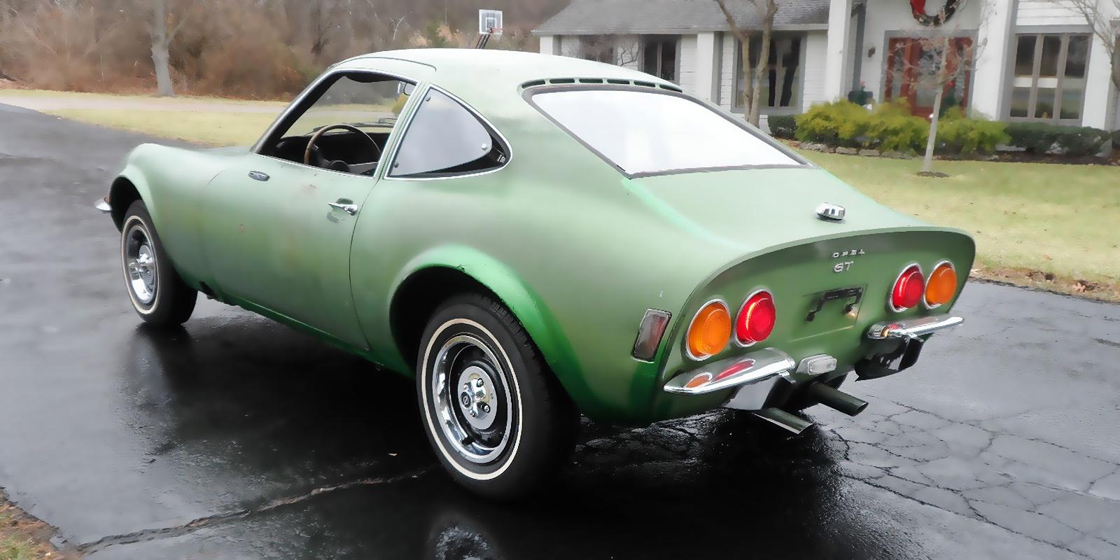 Enjoy as is or Restore? 1971 Opel GT