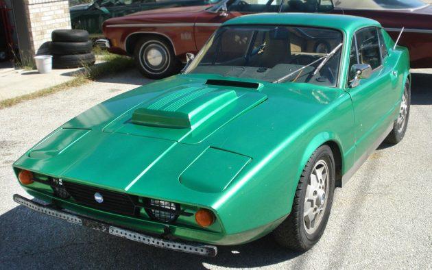 Barn Swede: 1973 Saab Sonett III